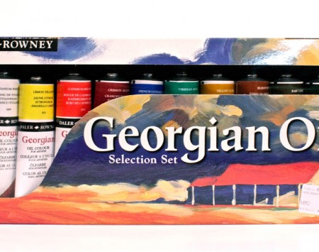Georgian-Oil-Selection-Set