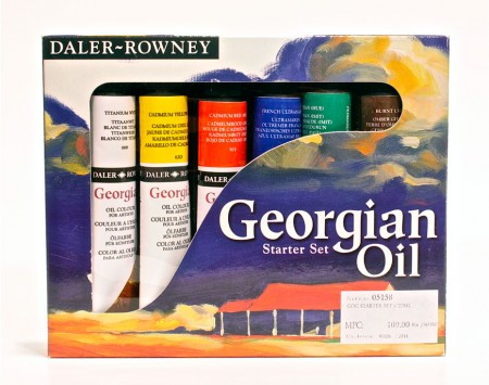 Georgian-Oil-Starter-Set
