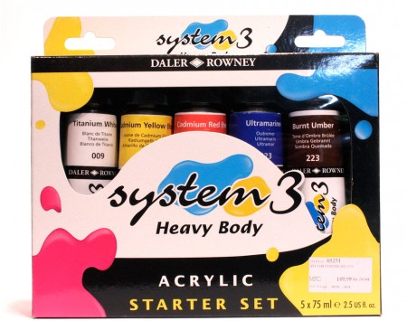 System-3-heavy-body-Acrylic-Starter-Set