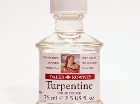 terpentin, daler rowney, razrjeđivanje uljanih boja