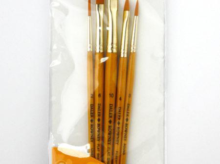 simply gold set, kistovi za akril, sintetički kistovi