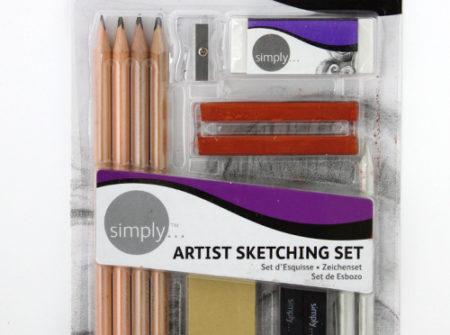 artist-sketching-set