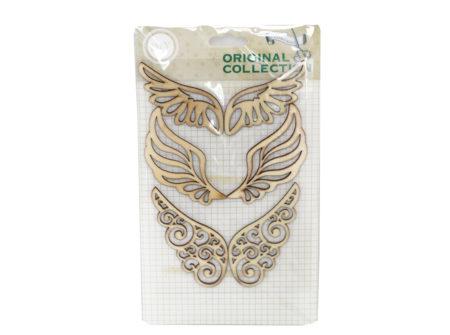 krila, anđeoska krila, drvena dekoracija
