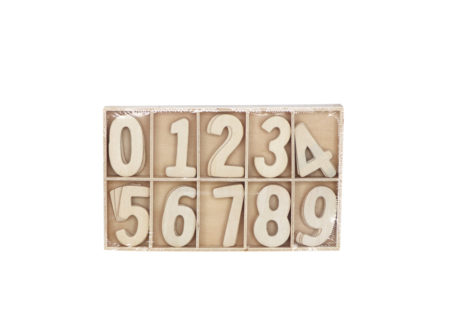 brojevi, drveni brojevi
