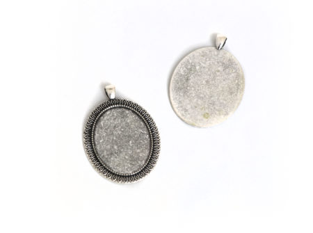medaljon, ovalni medaljon