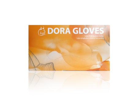 latex rukavice, dora rukavice, bez pudera