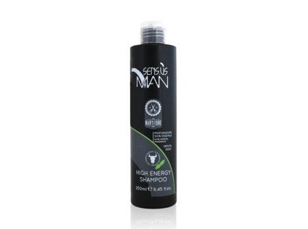 šampon s mentom, šamon za kosu, muški šampon, sensus man šampon