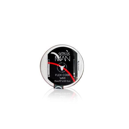mat vosak za kosu, fleksibilni vosak, sensus man, vosak za priroddni izgled, flex code wax