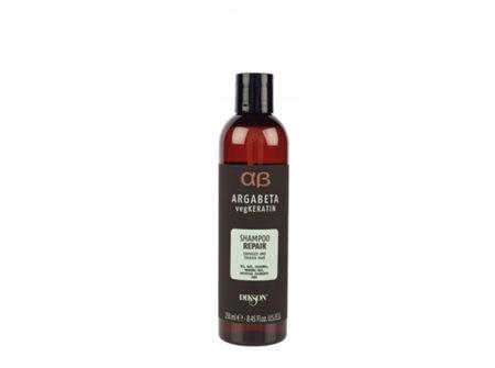 šampon za oštećenu kosu, vegkeratin, keratin, šampon s keratinom, argabeta, repair