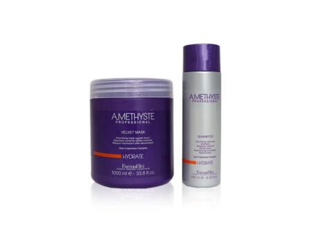 šampon za suhu kosu, šampon za kosu, suha kosa, njega kose, maska za kosu , farmavita, amethyste
