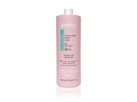 šampon za volumen, sensus illumyna, šampon za svakodnevno pranje, bez parebena, šampon bez sulfata, vegan friendly
