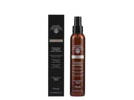 Tretman za rekonstrukciju kose, nook, magic arganoil, secret potion, keratin, arganovo ulje, rekonstrukcija kose