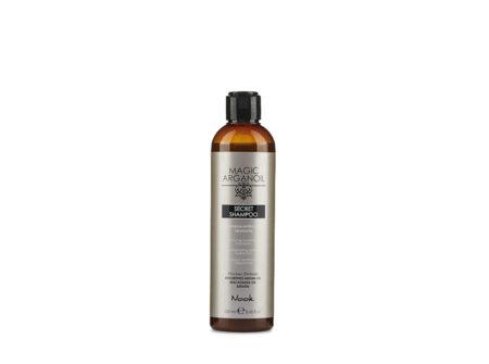 magic arganoil secret šampon, šampon bez parabena i sulfata, šampon sa keratinom, šampon sa arganom, keratin, arganovo uljke, makadamija ulje, nook