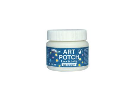 Art Potch Glimmer - lak ljepilo sa šljokicama, 150 ml