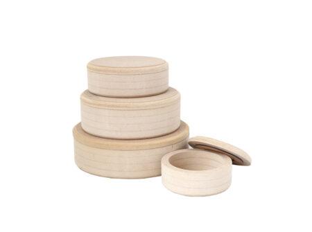 Set ovalnih kutija