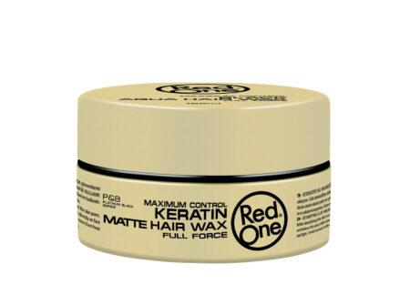 Vosak za kosu Red One keratin mat 150 ml, red one, red one vosak, vosak za kosu, muški vosak za kosu