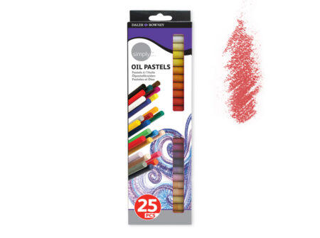 Uljni pastel set 25 komada