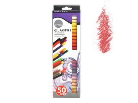 Uljni pastel set 50 komada