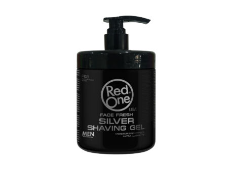 Gel za brijanje Red One srebrni 1000 ml, red one, gel za brijanje, brijanje,