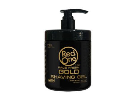Gel za brijanje Red One zlatni 1000 ml, red one, gel za brijanje, brijanje,