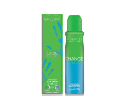 Hair color change sprej u boji zelena u plavu 150 ml