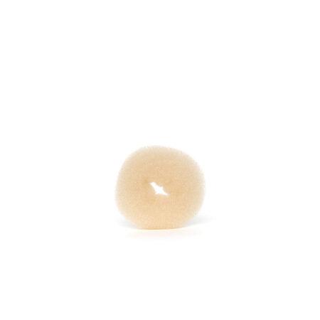 Spužva za punđu krem S Spužva oko koje se omota kosa kako bi se dobila lijepa, okrugla i puna punđa Elastična Veličina S Promjer S cm