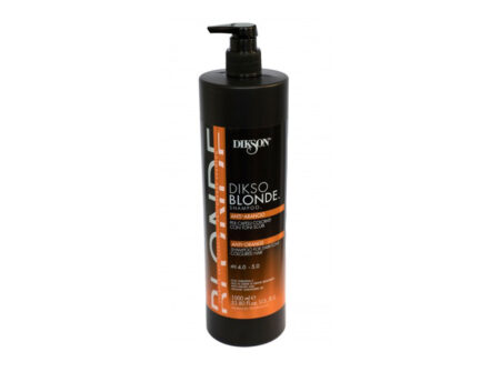 plavi šampon, dikso blonde, anti orange, šampon protiv narančastih tonova, šampon za neutralizaciju crvenih tonova, protiv crvene, dikson, dikos blonde anti orange, najbolji šampon protiv crvenog pigmenta, crveni pigment, plavi šampon