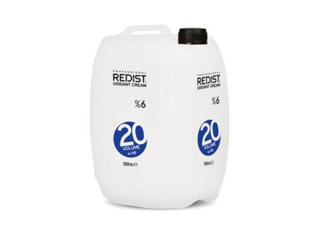 Redist aktivator u kremi 20vol 5000 ml, hidrogen 5l, redist, hidrogen veliko pakiranje
