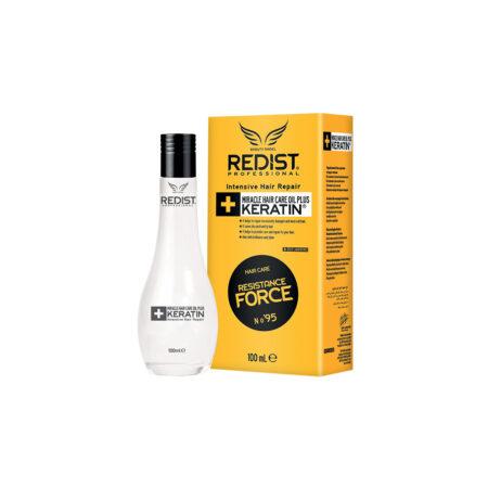 Redist Miracle keratin ulje 100 ml, ulje za kosu, keratin ulje, ulje za kosu sa keratinom, intenzivan obnova kose, ulje za obnovu kose