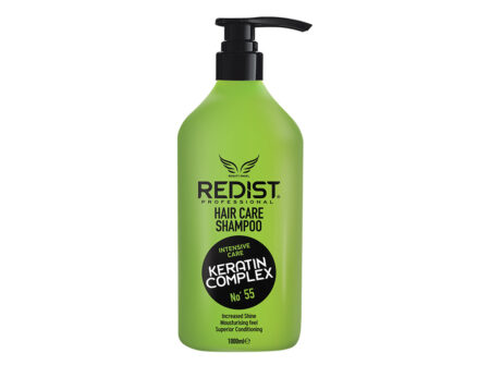 Redist keratin complex no 55 Šampon 1000 ml, keratin, šampon s keratinom, inetnzivan njega, najbolji šampon, šampon sjaj, sjaj kose