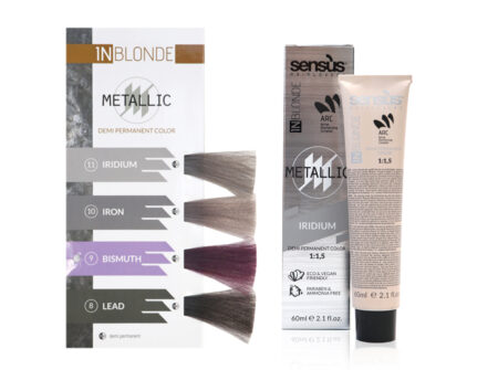sensus inblonde metallic, metallic boje za kosu, metallic boje, sensus